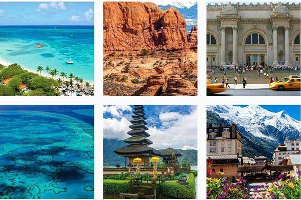 جدید ترین تصاویر در نوامبر ۲۰۱۷ روی اینستاگرام محبوب تریپ ادوایزری ها