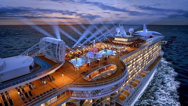 یکی از دیدنی ترین کروزهای جهانی برای سفرهای دریایی