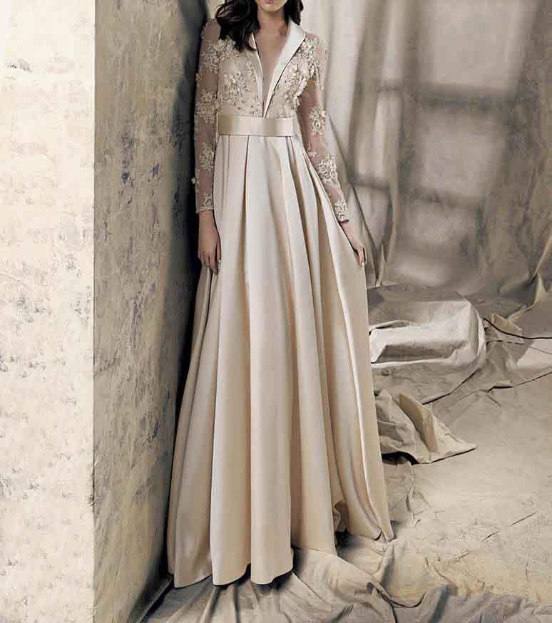 لباس بلند راسته