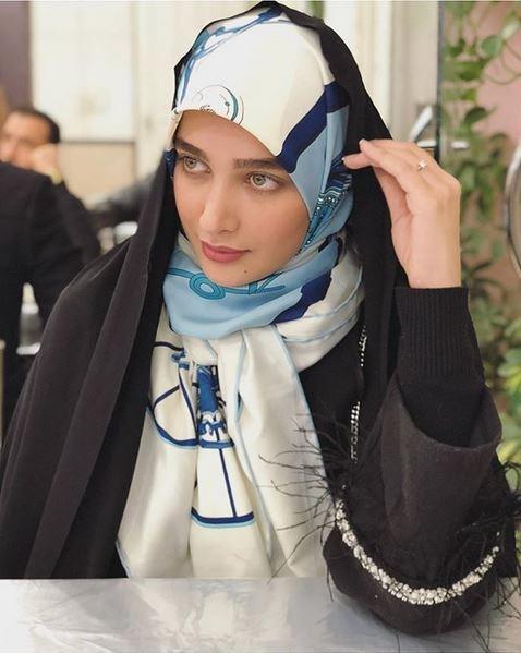 دنیای مدو لباس و لاکچری گردی و آناشید حسینی با چادر