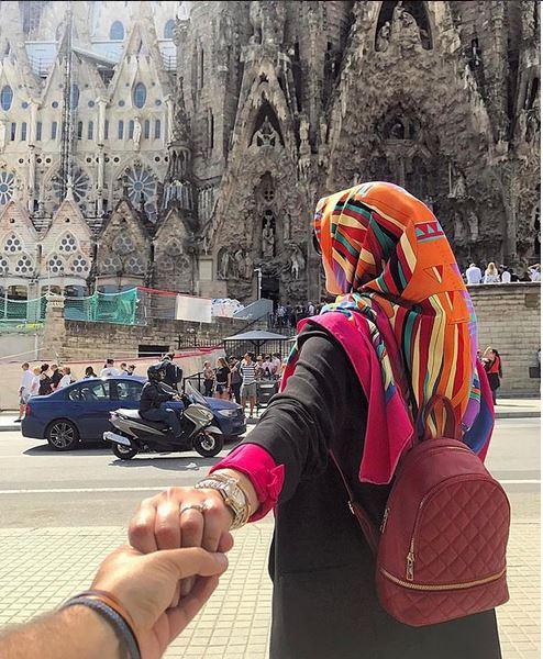 عکس های لاکچری آناشید حسینی و همسرش