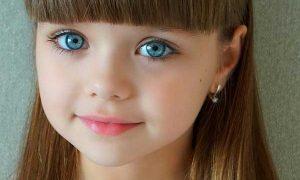 زيباترين دختر بچه دنيا