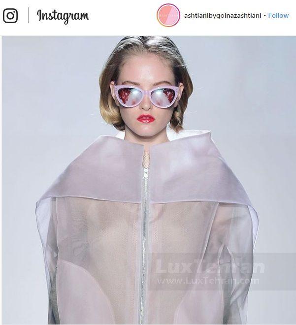 کاور های پوشیده شفاف با پارچه خاص و طراحی مفهومی گلناز آشتیانی