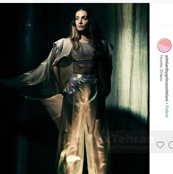 جدید ترین لباس تابستانی طراحی شده توسط گلناز آشتیانی