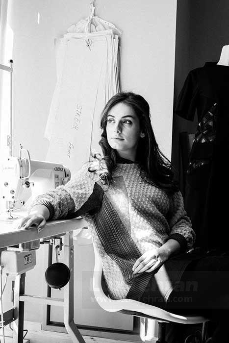 طراح مد و لباس گلناز آشتیانی