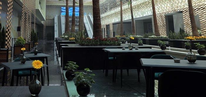 معماری واحدهای رستورانی ایران مال