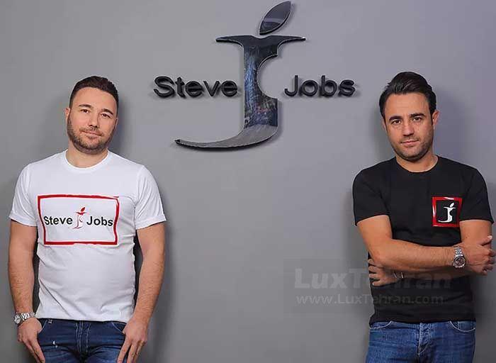 وقتی برند STEVE JOBS به صورت رسمی روی لباس ومحصولات این دو برادر ایتالیایی