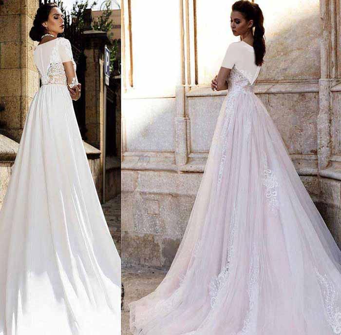 (جدید ترین کالکشن لباس عروس پیفون ۲۰۱۸)