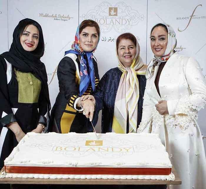 الهام حمیدی و شیلا خداداد در سالگرد افتتاح خانه مد لاکچری محبوبه بلندی در مرکز خرید پالادیوم تهران