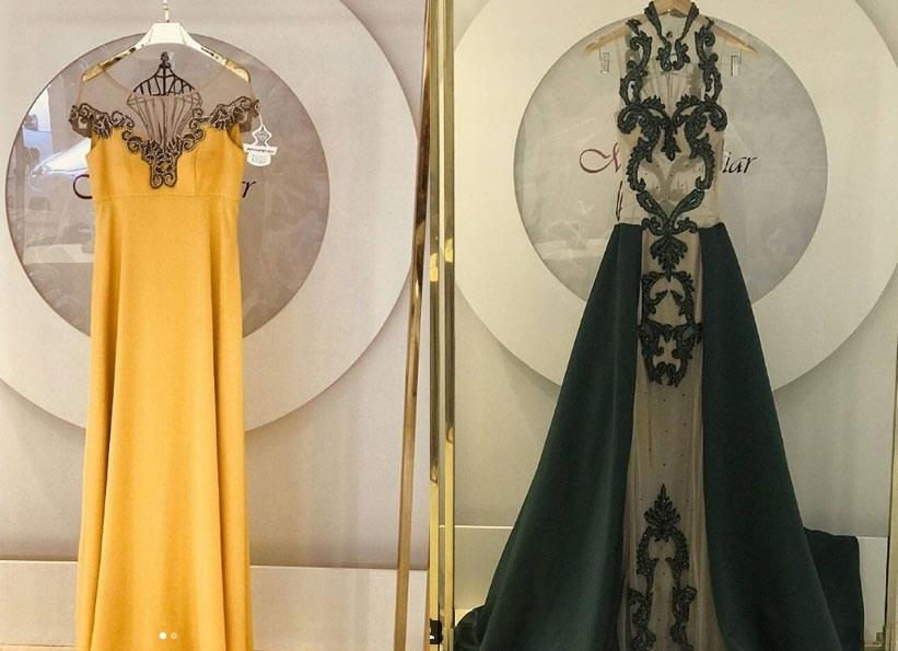 از لباس های شب فاخر لاکچری جدید خانه مد حانیار
