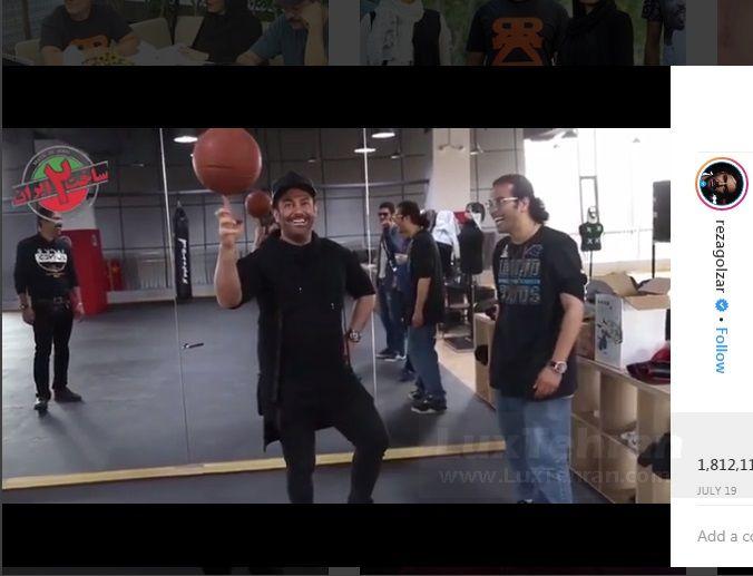 اوایل مردادماه ۹۷ محمد رضا گلزار از پشت صحنه سریال ساخت ایران ۲ در اینستاگرامش