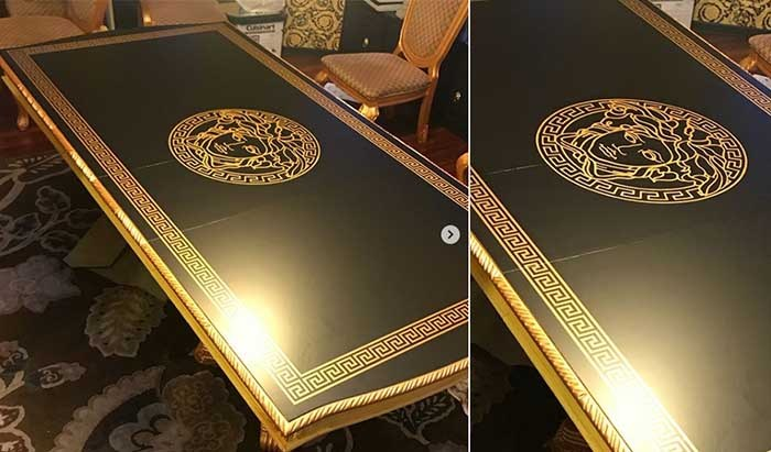 میز لوکس طراحی شده توسط ورساچه