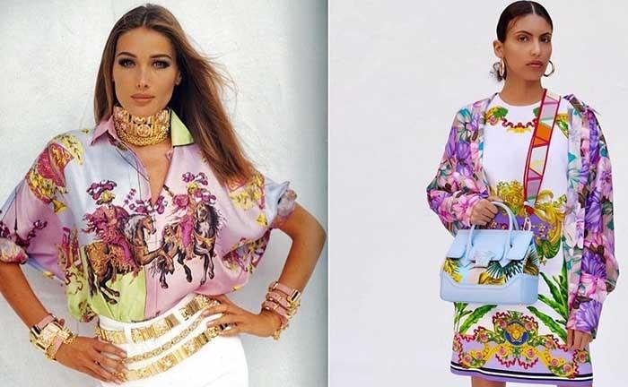 جدید ترین طرح های لباس تابستانی زنانه از برند ورساچه