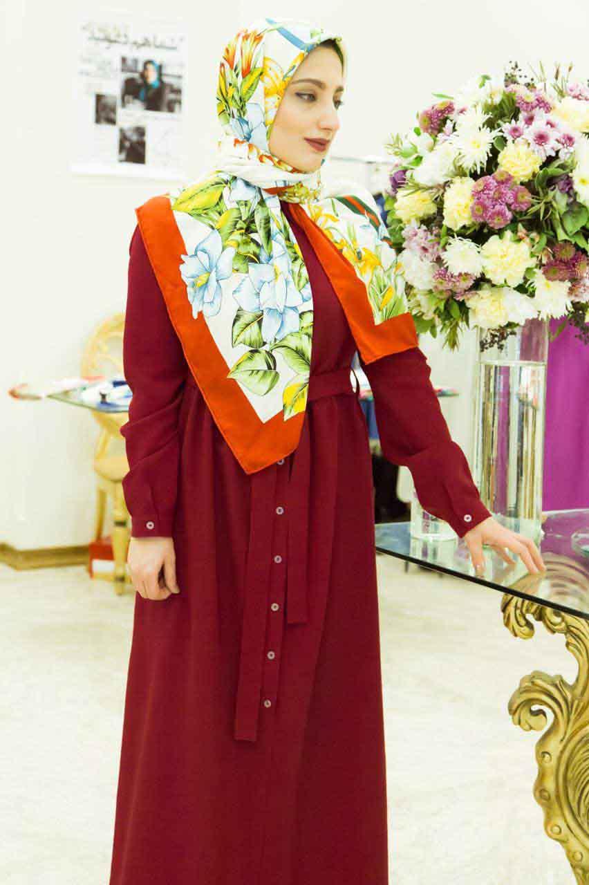 ترکیبی خلاقانه برای مانتوهای بلند از برند آاشید حسینی