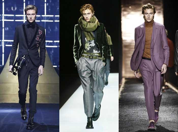 مدل جوان خوشتیپ ،  یکی از معروف های دنیای  مدلینگ