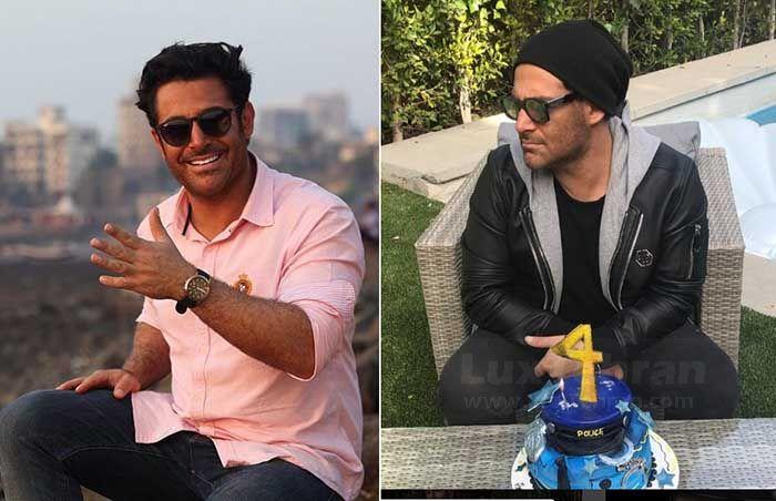 تیپ های بهاره صورتی و مشکی محمد رضا گزار از تهران (چپ) و کالیفرنیا (راست)