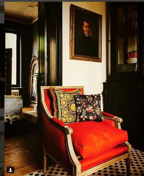 خانه ای در شهر سالزین بلژیک دکوراسیون داخلی ورساچه