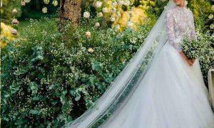 لباس عروس کيارا فراگني