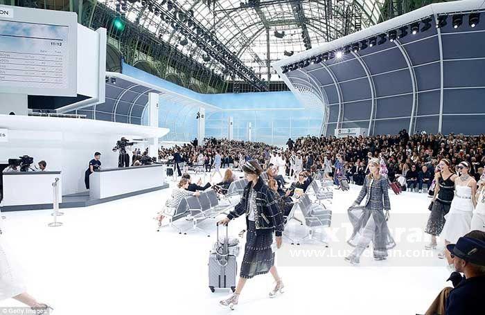 برگزاری هفته مد محصولات فرودگاهی شانل پاریس