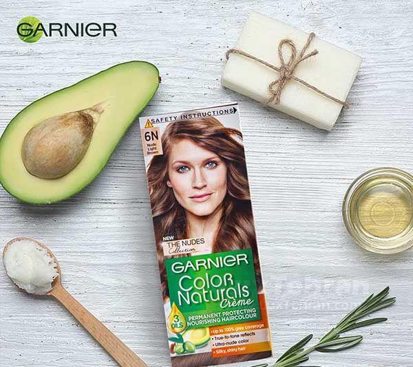 بهترین برند رنگ مو طبیعی را می توان مدل های COLOR NATURALIZE GARNIE