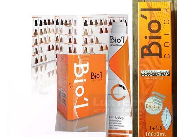 رنگ مو BIOL محصولی ایرانی است که بیش از ۴۰ طیف رنگی