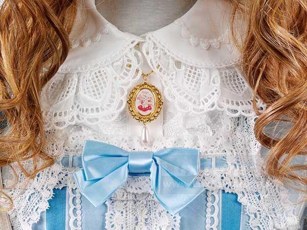 گلسینه لباس عروسکی استایل لولیتا