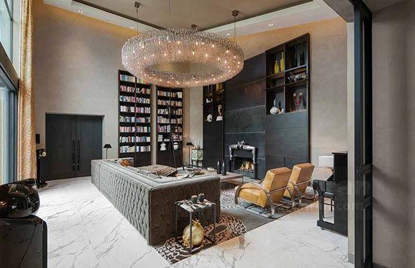 از محصولات لوستری که شرکت هلندی، طراح لوستر مرکز خرید گالریا ولنجک تهران تولید کرده است