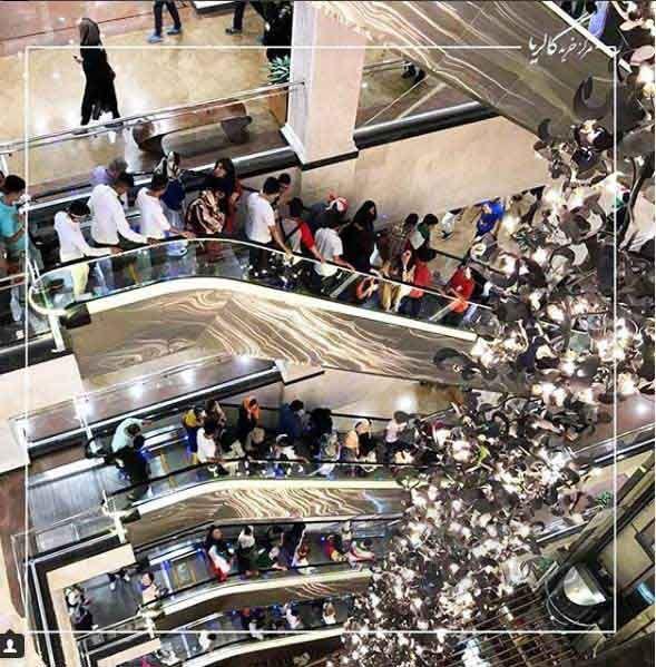 مرکز خرید گالریا همچون مرکز خرید پالادیوم