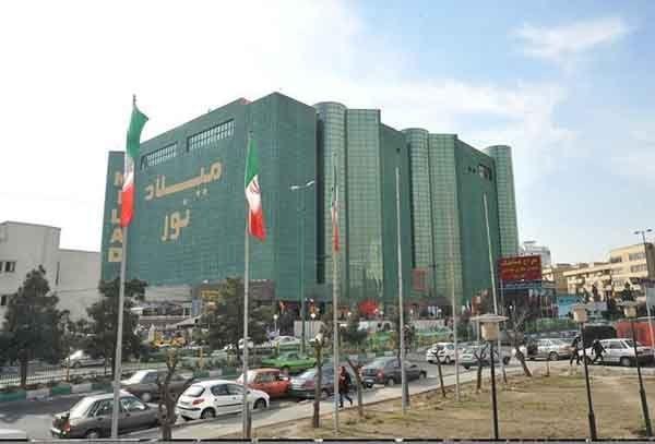 رستوران ملل مرکز خرید میلاد نور در طبقه ششم