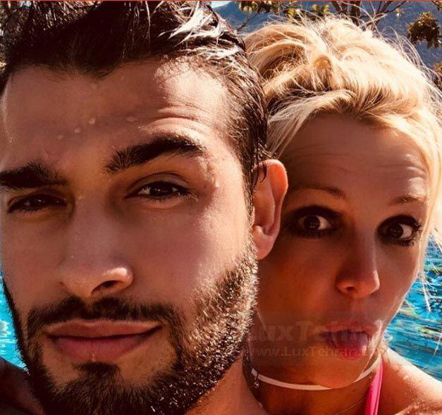 از عکس های پر لایک بریتنی اسپیرز و نامزد ایرانی اش