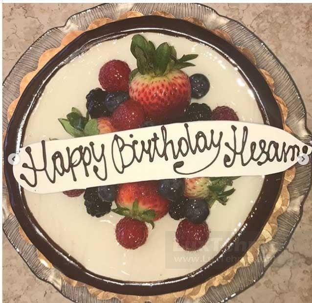 کیک تولد بریتنی در نخستین سالگرد آشنایی با سام