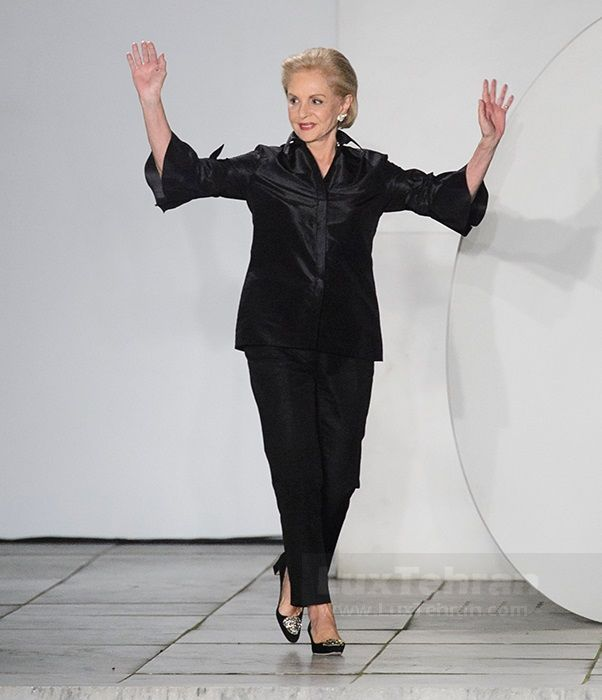 کارولینا هررا، طراح مد غربی در هفته مد نیویورک