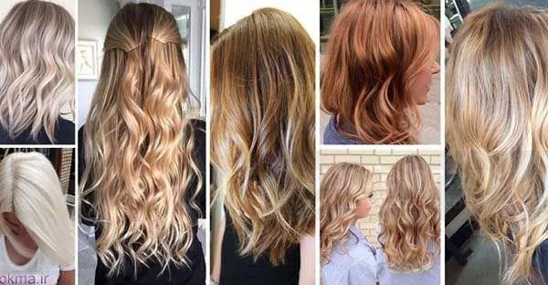 انواع رنگ مو موقت و اسپری ها (رنگ موهای نیمه دائم )