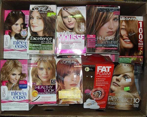 انواع برند رنگ مو خارجی