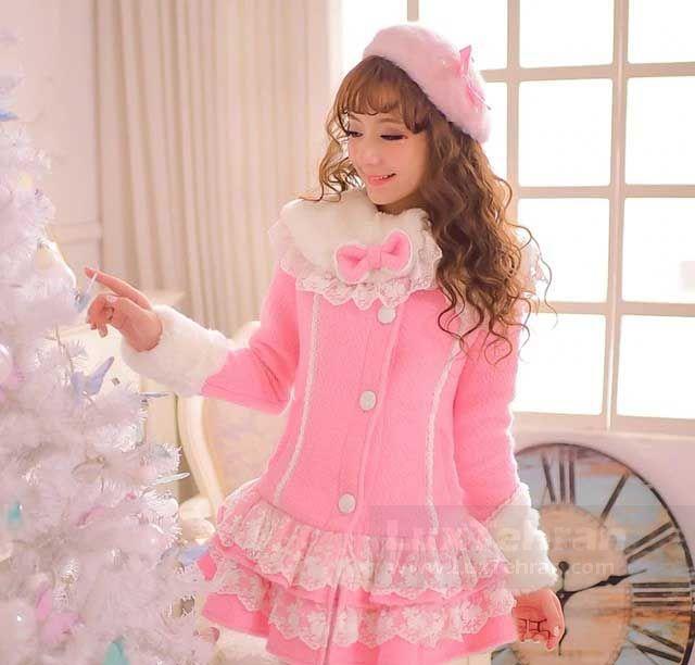 رنگ های پاستلی در SWEET LOLITA لباس عروسکی