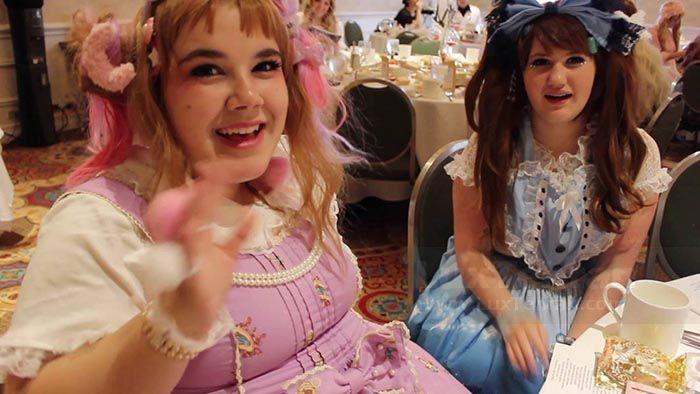 (LOLITA TEA PARTY) لباس روسکی