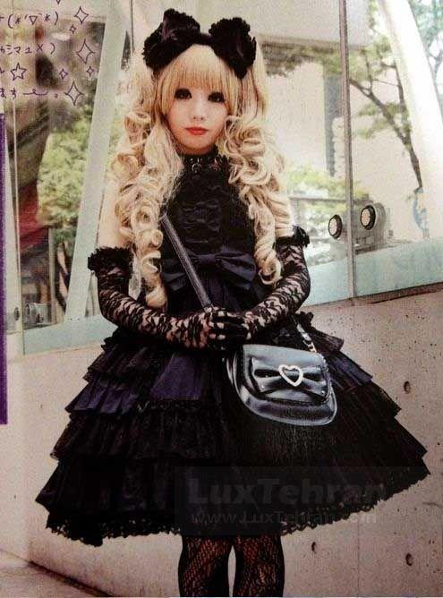 ( لولیتا گوتیک) لباس عروسکی