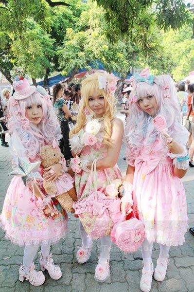 لباس دخترانه عروسکی برای نوجوانان استایل لولیتا