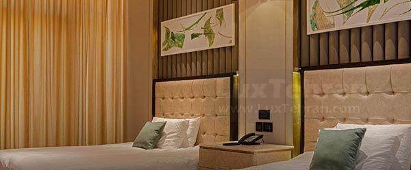 (تصویری از اتاق های هتل ۵ ستاره ایران مال)