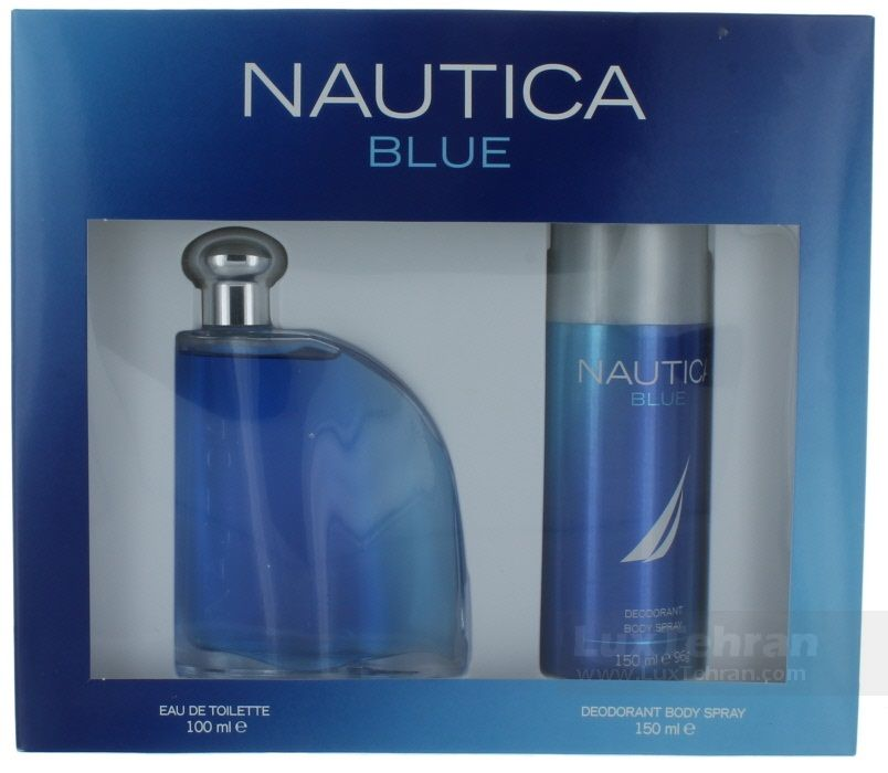 محصول NAUTICA BLUE  که غلظت اسانس EAU DE TOILETTE  دارد