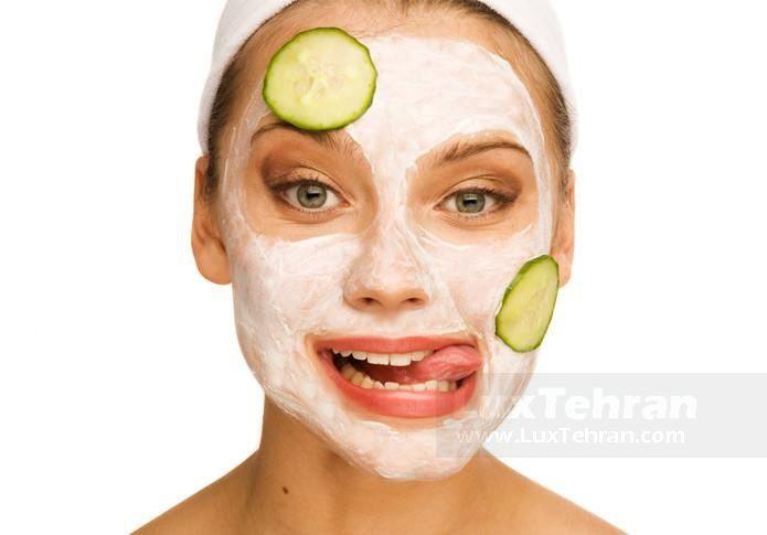 جوش صورت با ماسک های صورت میوه ای و عسلی