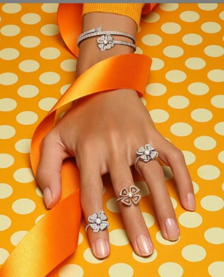 انگشتر الماس از جواهر سازی بولگاری