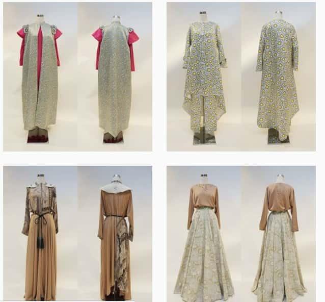 لباس های اسلامی طراحی شده توسط انیسه حسبیان
