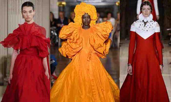 درس هایی برای طراحان لباس و مزون دار ها: مد گردی با والنتینو (Valentino)
