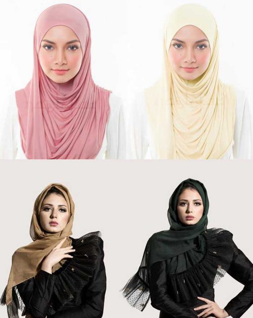 انتخاب رنگ روسری
