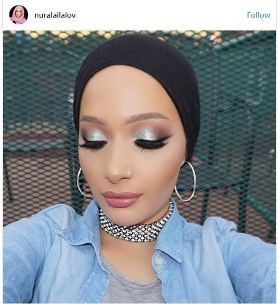 آرایش فشن بلاگر مسلمان