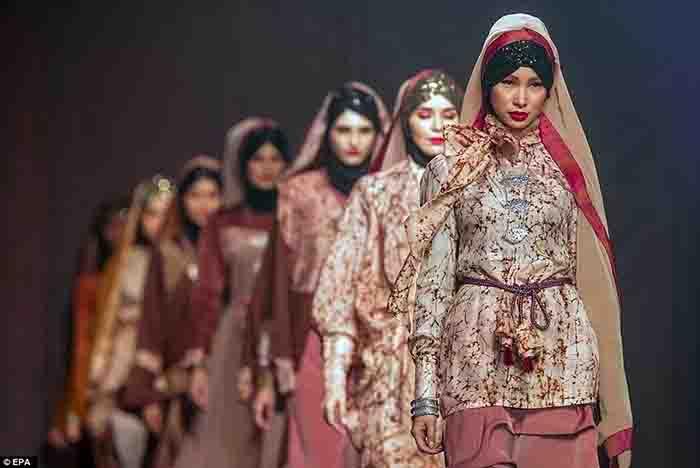 مانکن های با حجاب اسلامی
