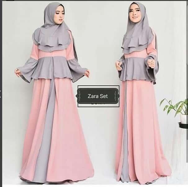 لباس پوشیده بلند طراحی شده توسط انیسه حسبیان