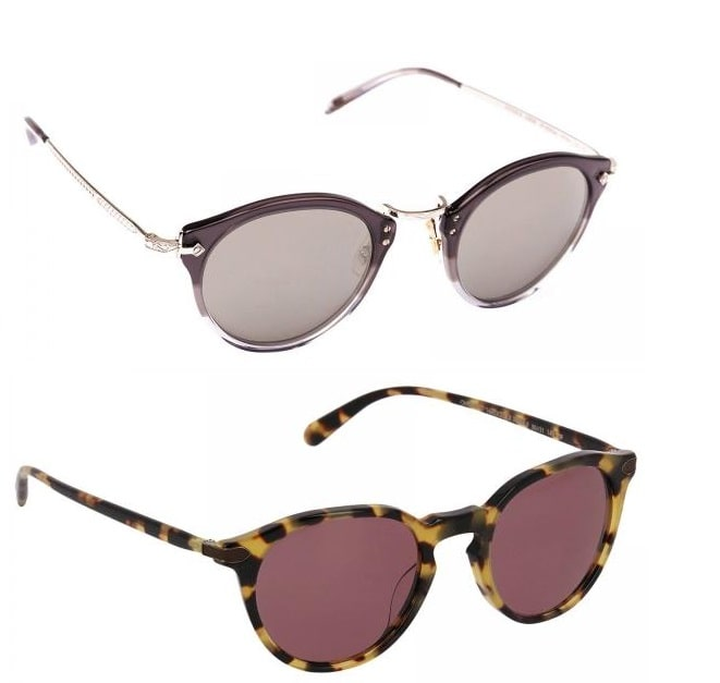 عینک آفتابی رنگی جدید اولیور پیوپلز