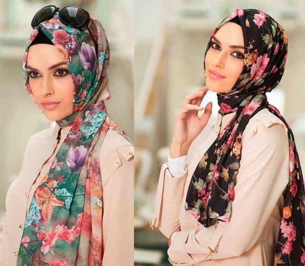 فرق شال با روسری در انواع استایل